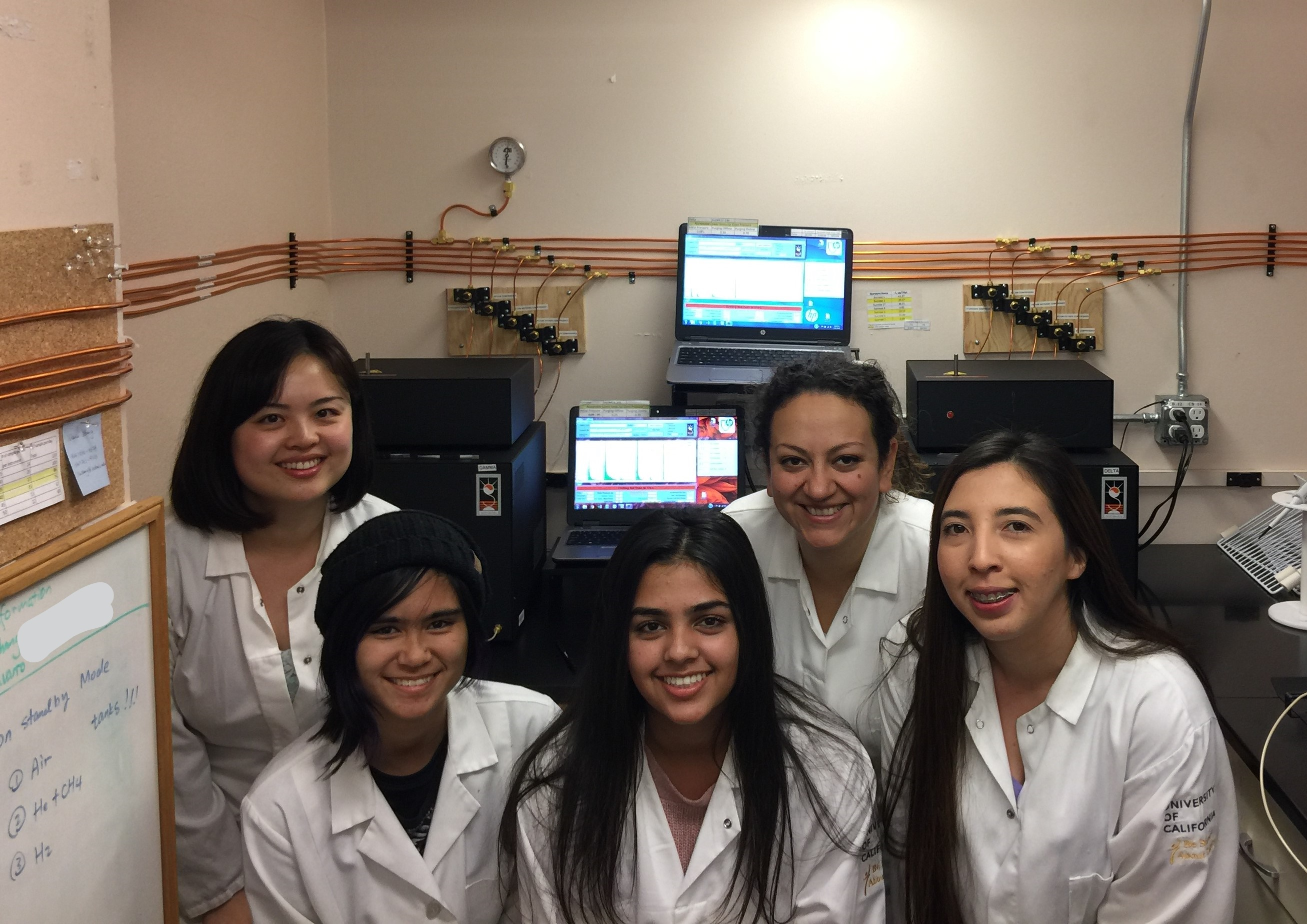 Photo of Faculty in Lab