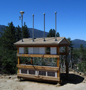 San Gorgonio Wilderness Aerosol Sampling Station