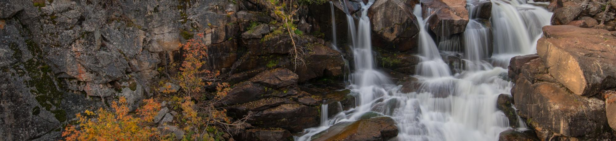 Popo Agie Falls - Photo Credit Scott Copeland